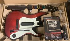 PS2 Guitar Hero 5 Bundle Sony PlayStation 2 GUITAR DONGLE & GAME CD Activision