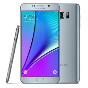 Samsung Galaxy Note 5 N920 32GB 4G T-Mobile AT&T Verizon Sprint Unlocked Silver