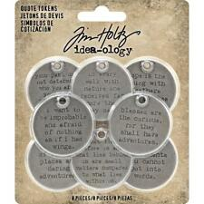 Tim Holtz ~ QUOTE TOKENS ~ Idea-ology