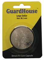 GuardHouse Morgan Dollar and Peace Dollar Air Tite Coin Holder 1 pack