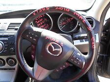 6/2010 MAZDA BL SERIES 3 SEDAN STEERING WHEEL (V7383)
