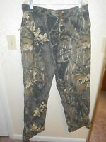 Cabelas Mossy Oaks Break Up Thick Camo Camouflage Hunting Pants L  Large Reg
