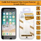 iPhone 7 Genuine Premium Gorilla Tempered Glass Shield LCD Screen Protector Film