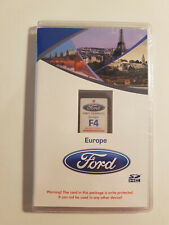 FORD SD CARD NAVIGATION F4 EUROPA