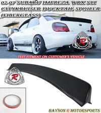 b453529e72b CityKruiser Rear Trunk Spoiler Wing (FRP) Fits 02-07 Subaru Impreza 4dr  Sedan (Fits  2007 Subaru Impreza)