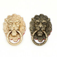 Rotatable Vintage Lion head Metal Ring Holder Finger Grip Stand Mount For phone#