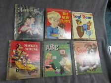 LOT OF 22 1950'S LITTLE GOLDEN BOOKS ALL A SERIES HOWDY DOODY, ANNIE OAKLEY YOGI