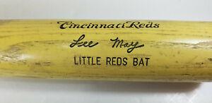 Cincinnati Reds Lee May  Little Reds Bat Hillerich 7 Bradsby U.S.A.