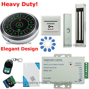 Waterproof RFID Card+Password DoorAccess Control System+Waterproof Magnetic Lock