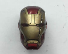 Custom 1/6 Scale Hot Ironman MK43 Battle Damaged Helmet Similar to VIP Gift Toys