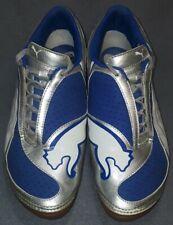 puma uni. soccer indoor Blue/Silver/White Sz.10