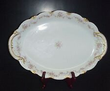 "Theodore Haviland Limoges France Meat Platter 18.75"" Schleiger 341A No Chips"