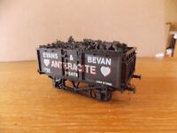 LIMA MINERAL OPEN WAGON No 1759 in EVANS & BEVAN ANTHRACITE NEATH Livery 0 Gauge