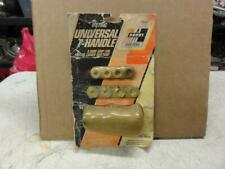 Vintage NOS Hurst Leather Wrapped T Handle Metric Hot Rod Ford Chevrolet