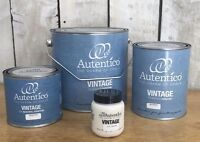 Autentico Chalk Paint Greys & Earths, FREE POSTAGE, Tester 500ml 1L, 2.5 litres