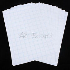 New 10 Sheets T-shirt Cloth Printing A4 Iron On Inkjet Heat Transfer Paper White