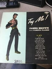 James Brown Try Me! Monophonic King High Fidelity #635 LP First Cover w/woman