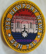 PUS271 - US NAVY USS NEWPORT SSN 750 PATCH SOUS-MARIN NUCLEAIRE