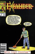 EXCALIBUR  (1988 Series)  (MARVEL) #4 NEWSSTAND Very Fine Comics Book