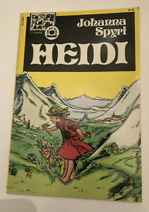 HEIDI  Johanna Spyri Illustrated Now Age Books Pendulum Press  1st Print 1979