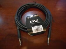 NEW Peavey PV Series 20' Instrument Cable, BLACK, 00576040