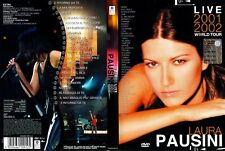 Laura PAUSINI - LIVE 2001-2002 WORLD TOUR - DVD + AK Bild Laura PAUSINI 15 x 21