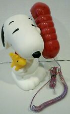 Peanuts Snoopy Woodstock Telephone Piggy Bank ACL Phone