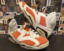 "Nike Retro Air Jordan 6 VI ""Gatorade Like Mike"" Orange White 384664-145 Size 13"