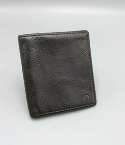 Mulberry Trifold Card Holder /Wallet in Chocolate Brown Leather