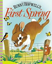 VINTAGE WONDER BOOKS Bunny Hopwell's First Spring (hc) by Jean Fritz NEW