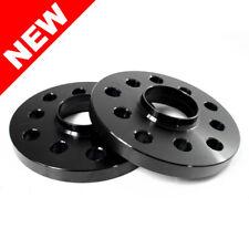 2x 10mm Black Wheel Spacers w/ Lip 5x100 5x112 57.1 CB