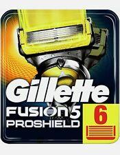 Gillette Fusion ProShield, 6 Lamette. Prodotto Nuovo, Sigillato Originale