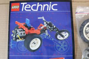 LEGO 8857 TECHNIC STREET CHOPPER MOTORCYCLE & DRAG RACER CAR SET