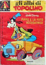 MONDADORI DISNEY GLI ALBI DI TOPOLINO N.796  1970 + BOLLINO