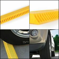 Garage Parking Aid Stopper Rubber Park Guide Block and Stop Curb Wheel Driveway