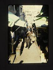 1960s Kodachrome 35mm Color Slide Of Hong Kong, China #5 Wonderful Vivid Image