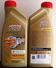 4LITRI  OLIO MOTORE CASTROL EDGE 5W30  LONGLIFE III PROFESSIONAL