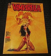 1972 VAMPIRELLA Warren Horror Magazine #21 FVF Enrich Cover