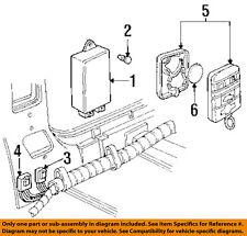 GM OEM Keyless Entry-Key Fob Remote Transmitter 15725423