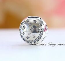 Authentic Pandora Sterling Silver Twinkling Night Clip 791386CZ *SPECIAL*