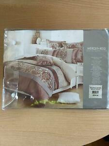 Mercer+Reid King Bed Quilt cover and Pillowcases  Spence Natural