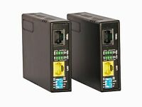 Ethernet Extender Kit 1 Mile Network Booster over LAN Cable or Phone Line Wire