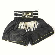 Hawk Thai Black Boxing Shorts - Size Choice