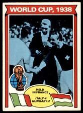 Topps Footballers 1978 Orange (B1) World Cup - 1938 No. 339