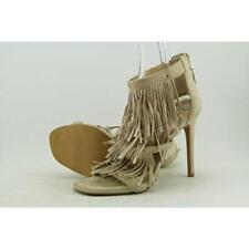 35 Sandali e scarpe cinturini alla caviglia in camoscio per il mare da donna