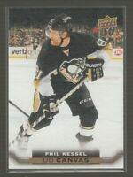 (71071) 2015-16 UPPER DECK CANVAS PHIL KESSEL #C188