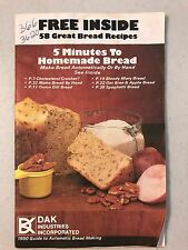 58 Great Bread Recipes - 5 Minutes to Homemade Bread - Recipes Book