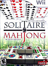 Solitaire & Mahjong - Nintendo  Wii Game