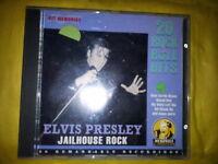 PRESLEY ELVIS - JAILHOUSE ROCK (SERIE HIT MEMORIES, 20 TRACKS). CD.