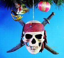 *A379 Decoration Ornament Xmas Tree Home Decor PIRATES OF THE CARIBBEAN Logo Toy